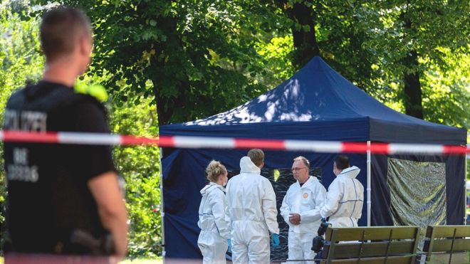 Germany expels two Russian diplomats after the murder of a Georgian in Berlin