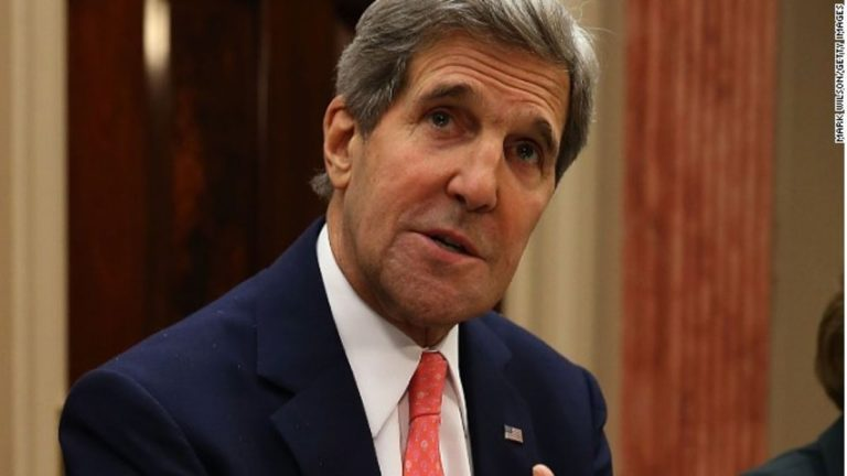 "Kerry gives his support to Biden because he is the president that the US ""desperately needs"""