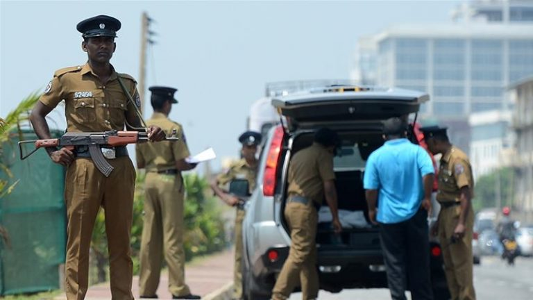 11 Tamils die in police post attack