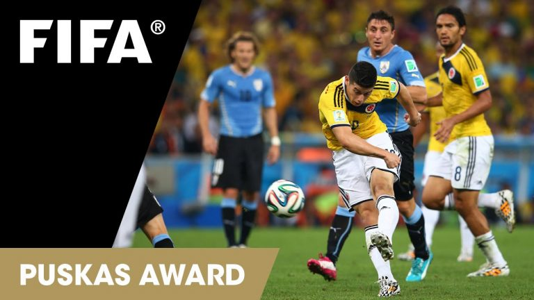 50 great World Cup moments: James Rodriguez's stunning goal from Brazil 2014