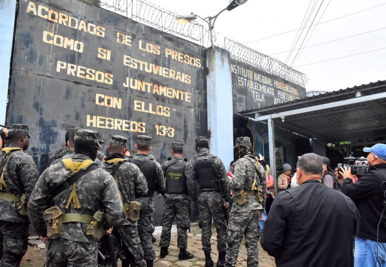 A riot in a prison in Honduras leaves at least 20 dead