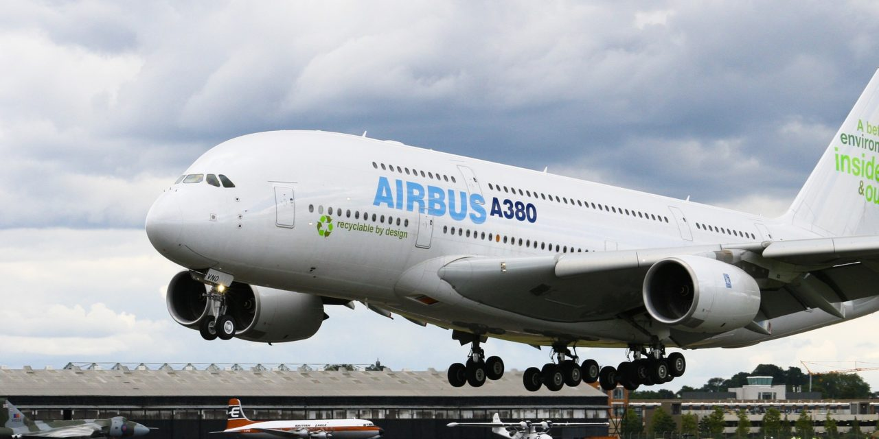 A380s may slow air travel by delaying takeoffs