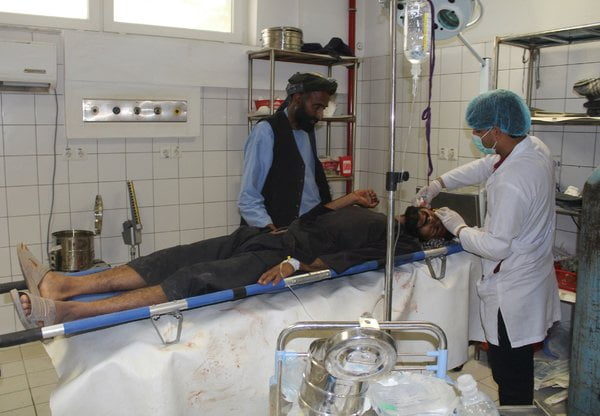 Afghan Military Strike Kills at Least 70 at Mosque