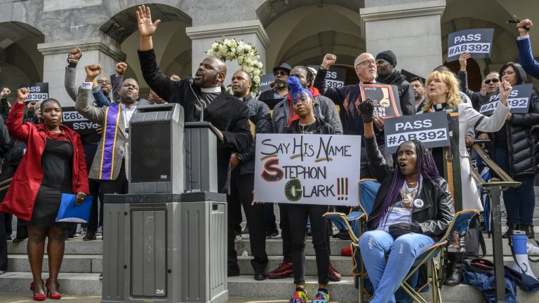 After Stephon Clark's death, lawmakers want to crack down on police shootings