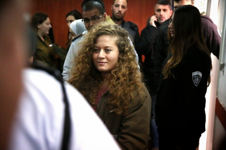 Ahed Tamimi, Palestinian Teen, Gets 8 Months in Prison for Slapping Israeli Soldier