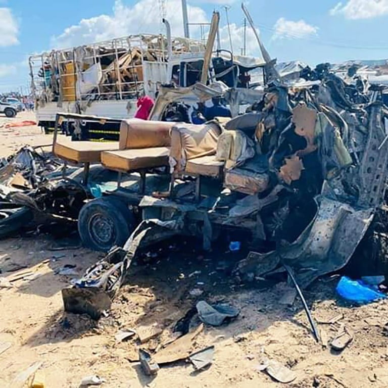 Al Shabaab vindicates the car bomb attack that killed at least 94 people in the capital of Somalia