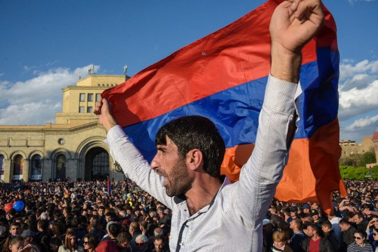 Armenia Detains 3 Opposition Leaders Amid Protests