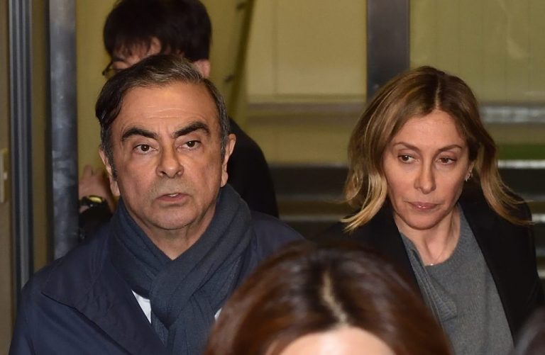 Arrest warrant in Japan against Ghosn's wife for alleged perjury