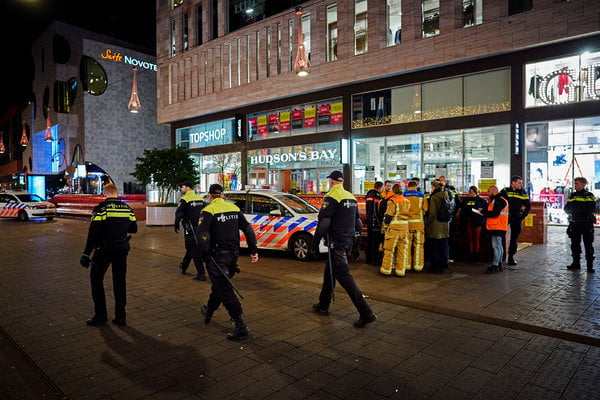Arrested a Friday stabbing suspect in The Hague
