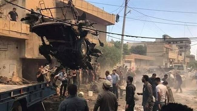 At least eight dead and 20 injured by the explosion of a car bomb in the Syrian province of Aleppo