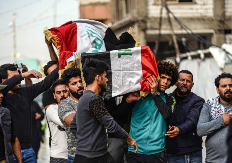 At least eight killed by security forces shooting at protesters in southern Iraq