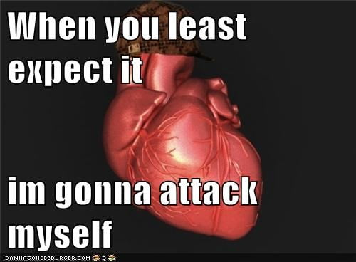 attack when you least expect it