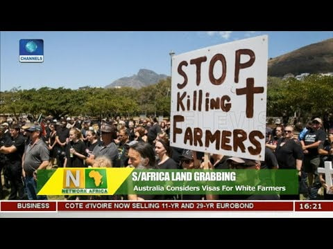 Australia Considers Emergency Visas for White South African Farmers