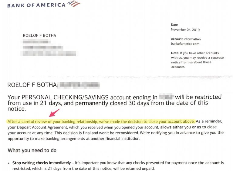 Bank of America Is Closing My Three-Year-Old's Account Over Crypto