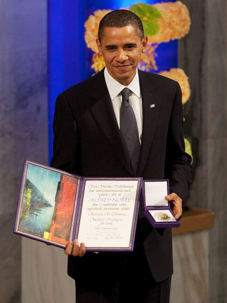 Barack Obama wins Nobel Peace Prize