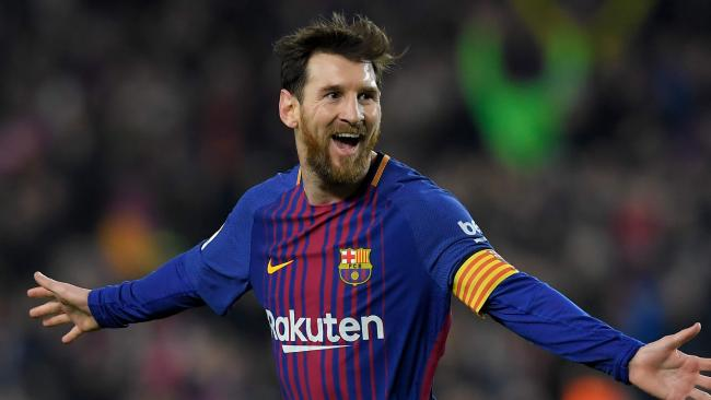 Barcelona romps to victory after big guns fire