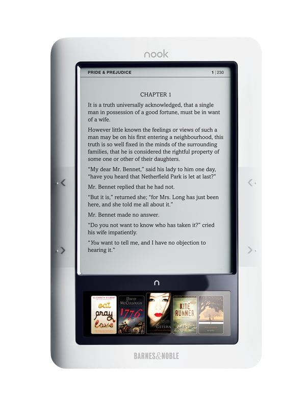 BN e-book reader reportedly in the works