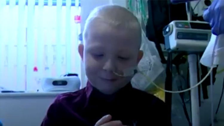 Boy recovering well after five-organ transplant