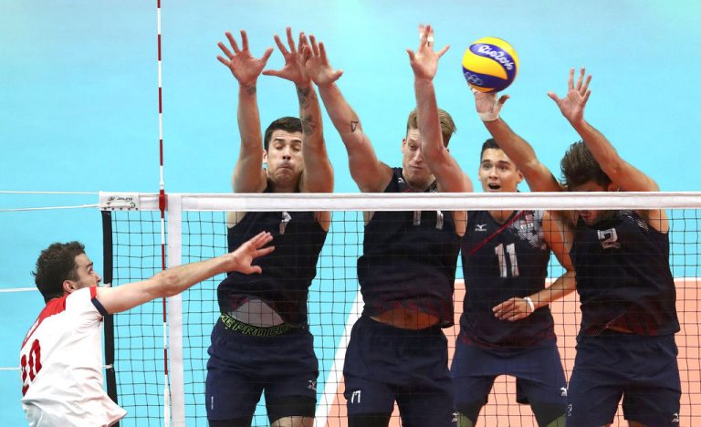 Brazil Ends U.S.s Dramatic Run in Volleyball