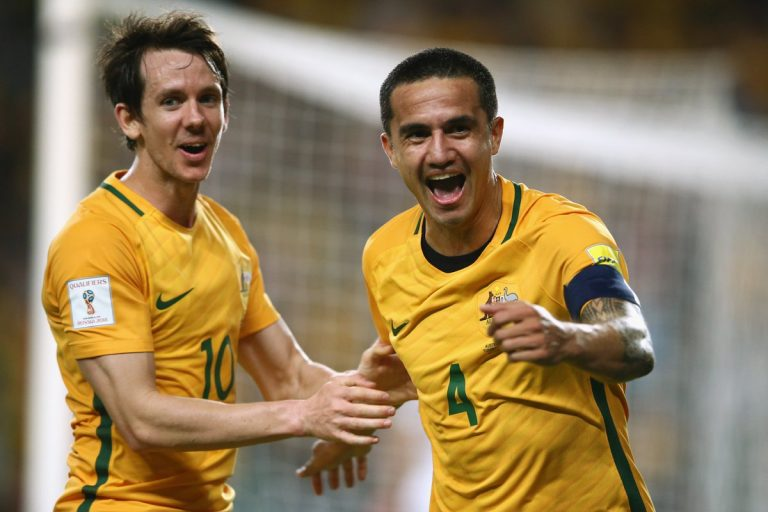 Cahill on target for Socceroos
