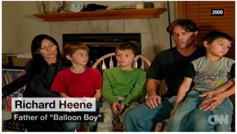 Calling Story of Boy and Balloon a Hoax, Sheriff Seeks Felony Charges