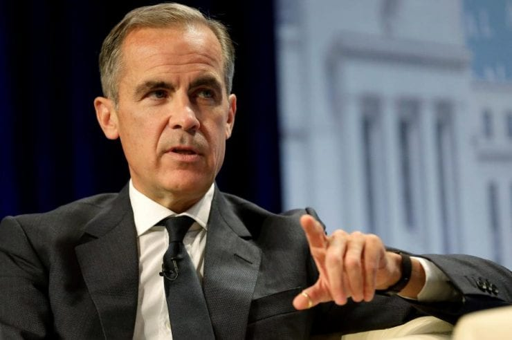 Carney On Eve of G20: Cryptos Don't Pose Risks to Financial Stability