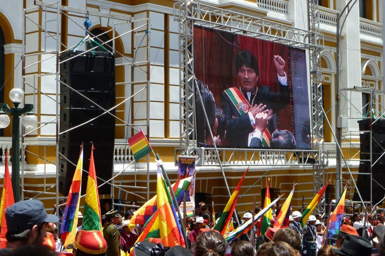 Choquehuanca, possible presidential candidate of the MAS, promises to fight for peace in Bolivia