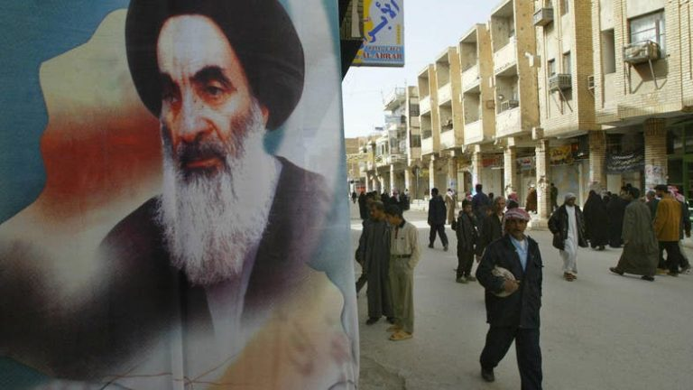 Cleric Al Sistani calls for early elections in Iraq