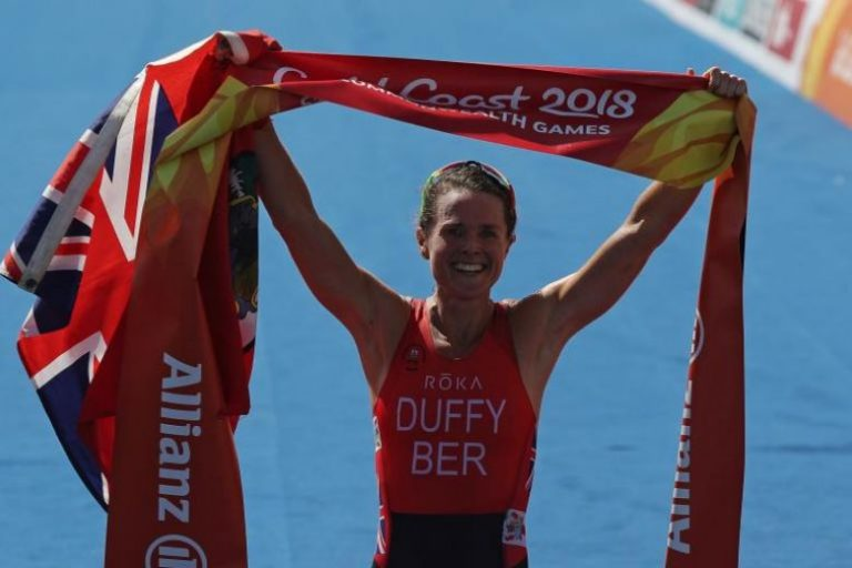 Commonwealth Games 2018: Flora Duffy wins the first gold of the Gold Coast Games