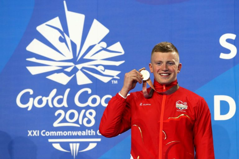 Commonwealth Games: Adam Peaty & Elinor Barker in day three highlights