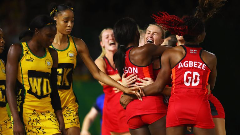 Commonwealth Games: England beat Jamaica to reach final for first time