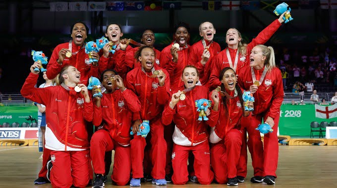 Commonwealth Games: England stun Australia to win netball gold