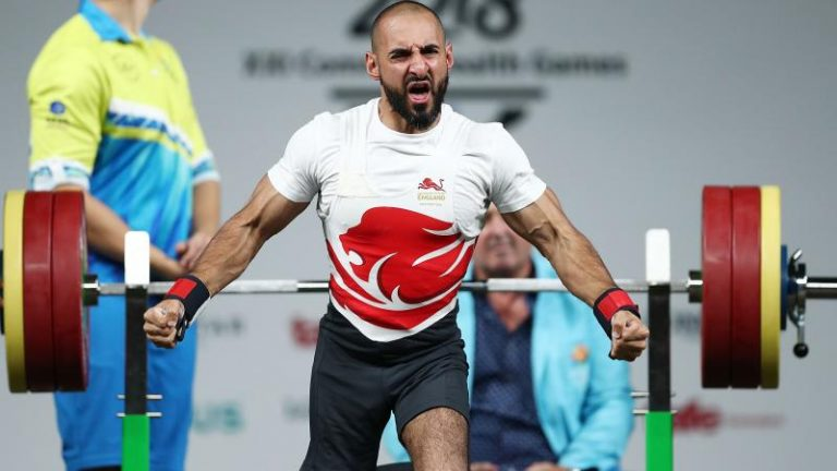 Commonwealth Games: England's Ali Jawad wins Para-powerlifting bronze