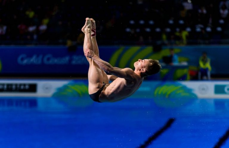 Commonwealth Games: England's Jack Laugher seals diving gold in 3m springboard