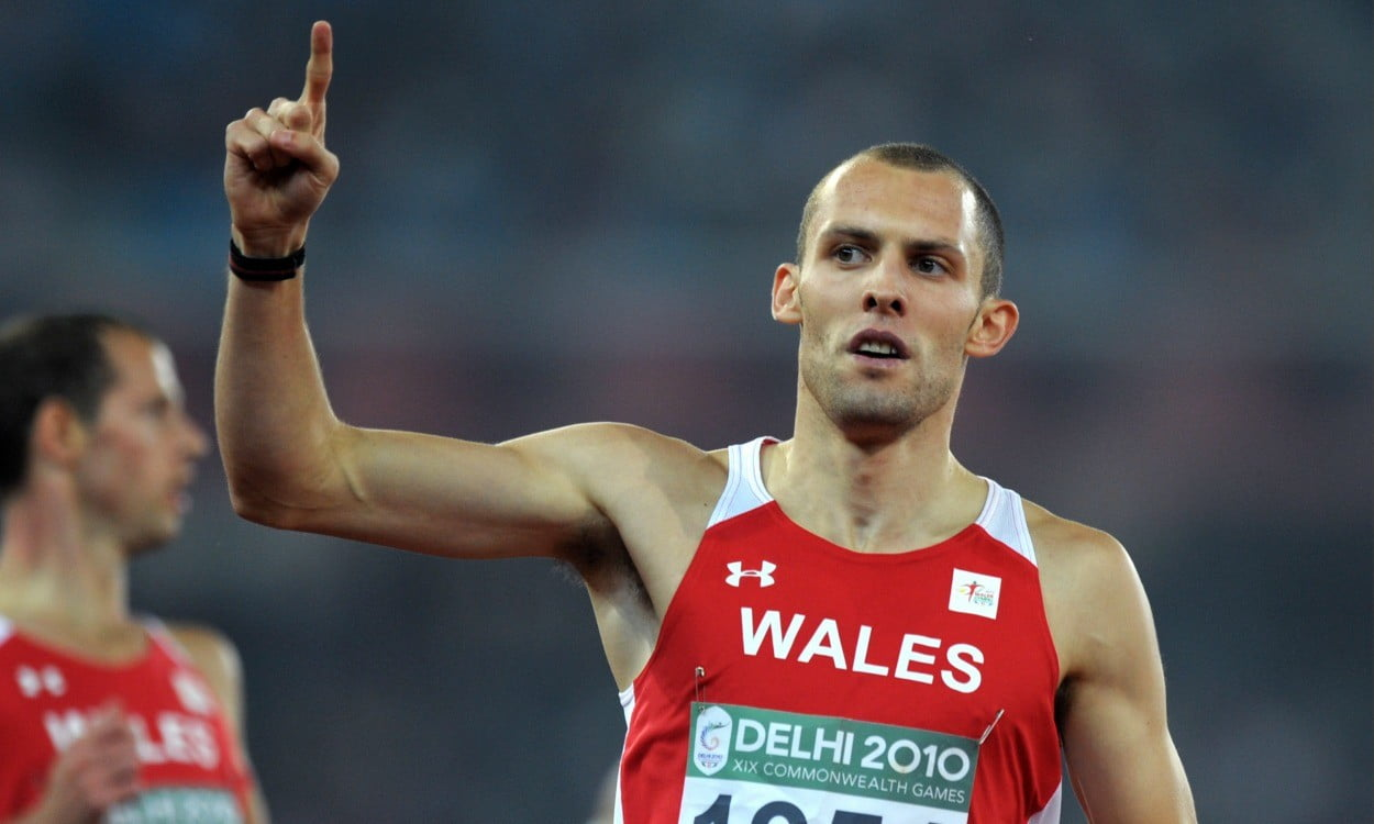 Commonwealth Games: Wales' Dai Greene withdraws from 400m hurdles after hamstring tear