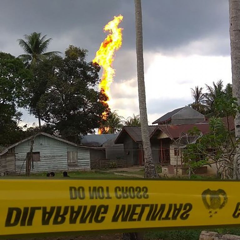 Deadly Fire Erupts at Illegal Oil Well in Indonesia