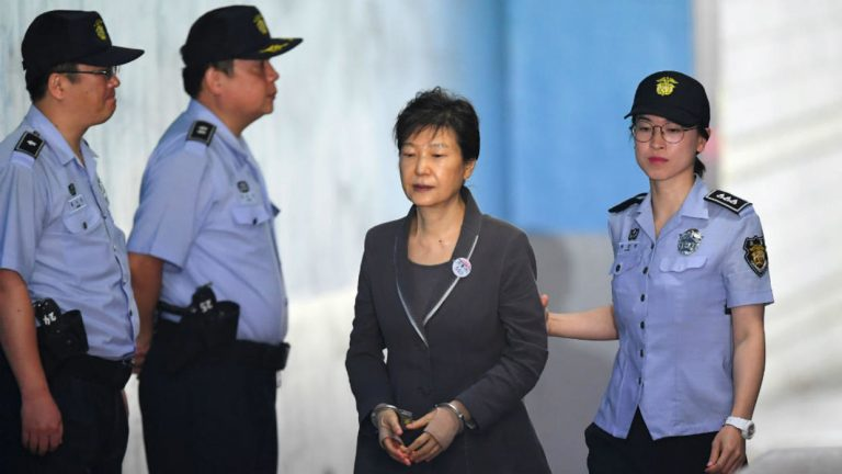 Disgraced former South Korean leader jailed for 24 years over corruption scandal