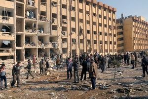 Eight civilians in Syria die in jihadist projectile attack against Aleppo