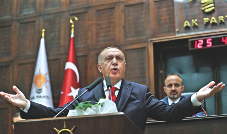 Erdogan warns that Turkey is prepared to take action if Haftar fails to meet its commitments in Libya