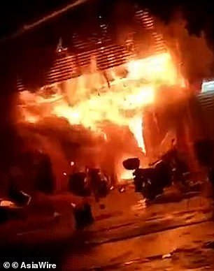 Fire at South China Karaoke Bar Kills 18, and Arson Is Suspected