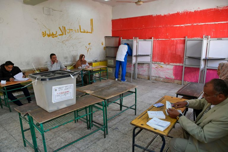 For as Little as $3 a Vote, Egyptians Trudge to Election Stations