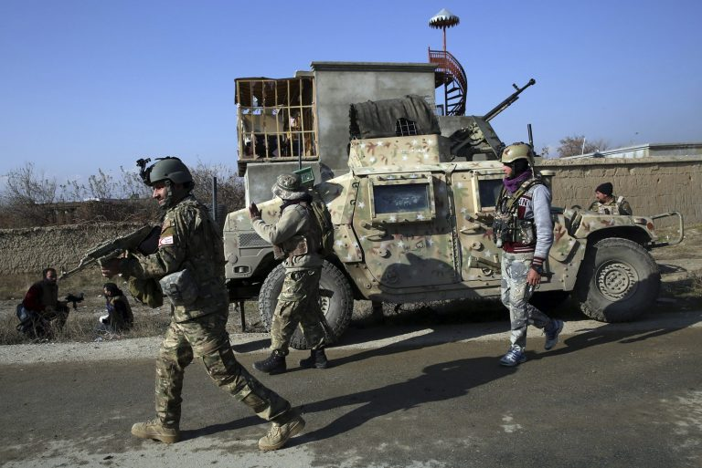 Fourteen members of the security forces die in a Taliban attack in northern Afghanistan