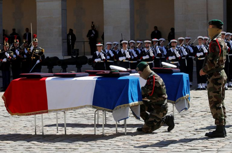 France Honors Officer Killed After Taking a Hostage's Place