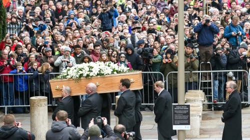 Friends, family gather for Stephen Hawking's funeral in Cambridge