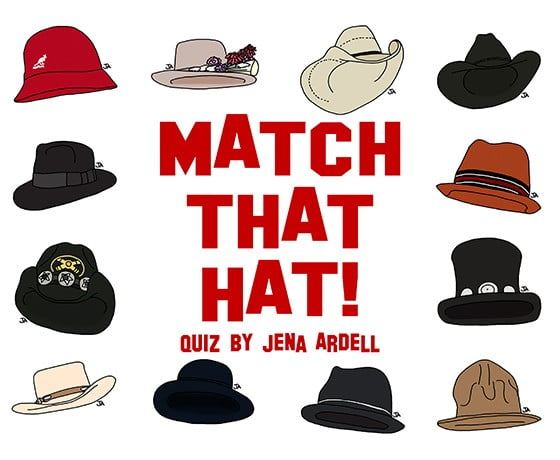 Hat quiz: How much do you know about headwear?
