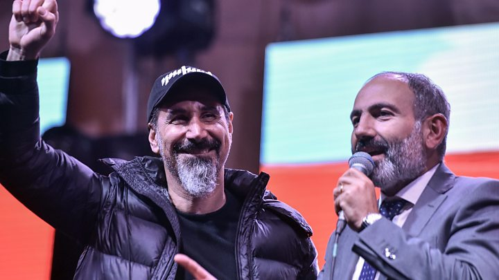 He Was a Protester a Month Ago. Now, Nikol Pashinyan Leads Armenia.