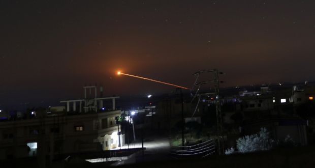 Iran Fires Rockets Into Golan Heights From Syria, Israelis Say