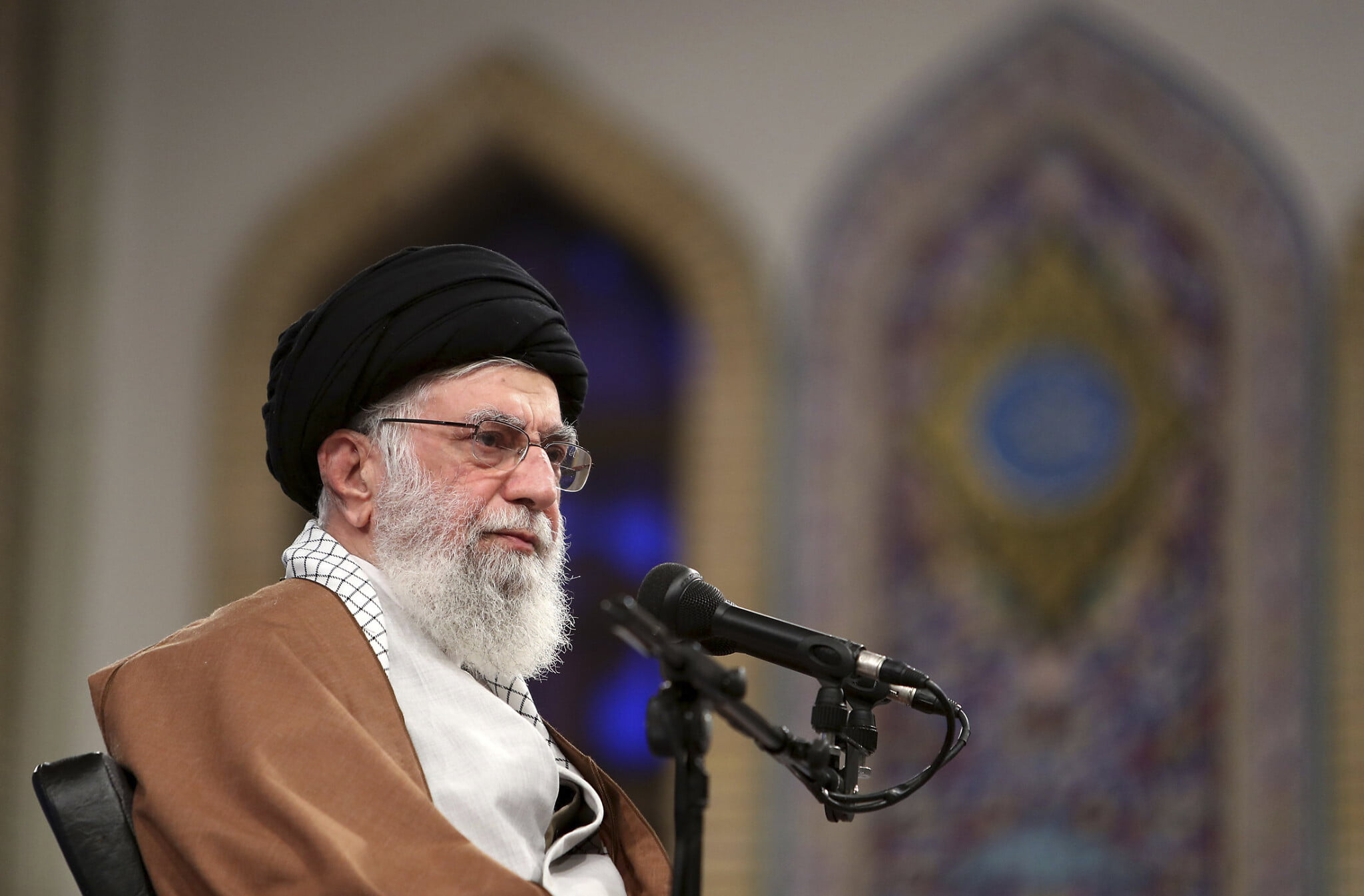 "Iran's supreme leader says the attacks on the United States are ""just a slap"""