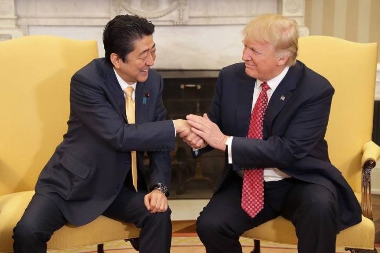 'Is This Still a Buddy Movie?' Trump and Japan's Leader Will Soon Find Out