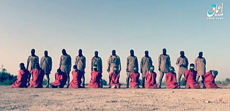 Islamic State executes a dozen Christian hostages in Nigeria